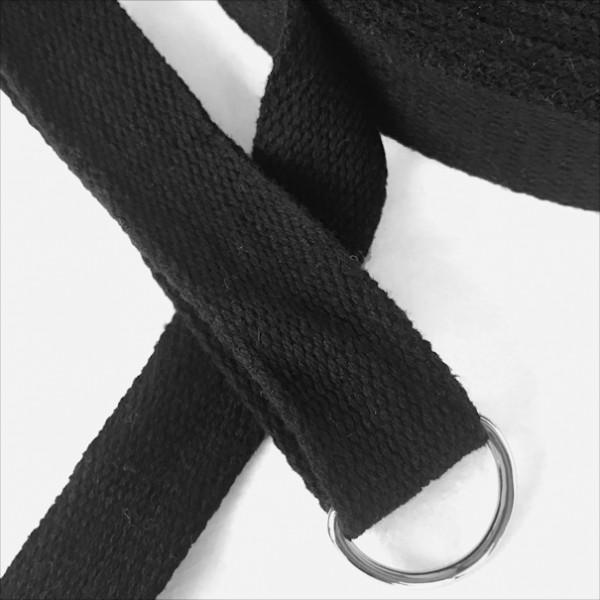 Gurtband BW 2,5cm breit, schwarz